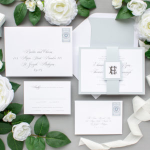 Foil Pressed Wedding Invitations | Epitome