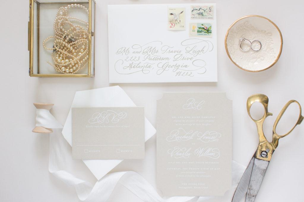 silk screen wedding invitations