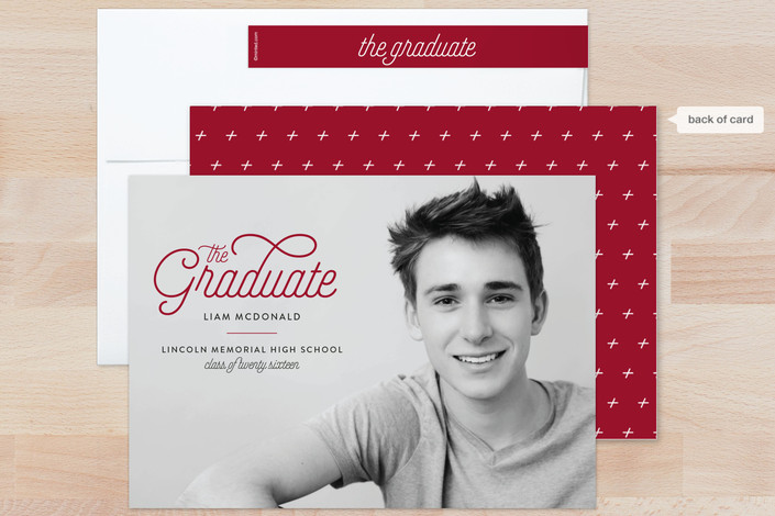 photo graduation announcement for Minted