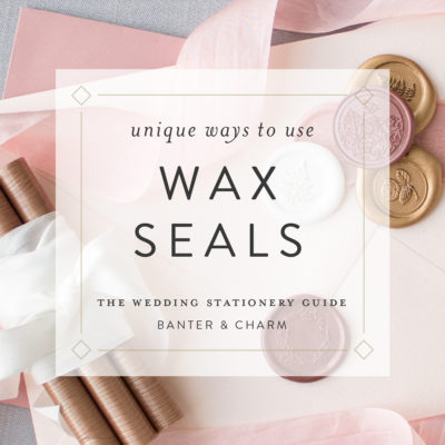 unique ways to use wax seals