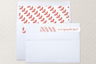 envelope liner label