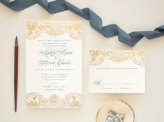 gold foil stamp hope