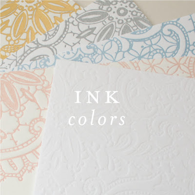 Wedding Stationery Guide: Ink Colors, Part I