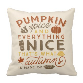 Pumpkin Spice Fall Collection for Zazzle