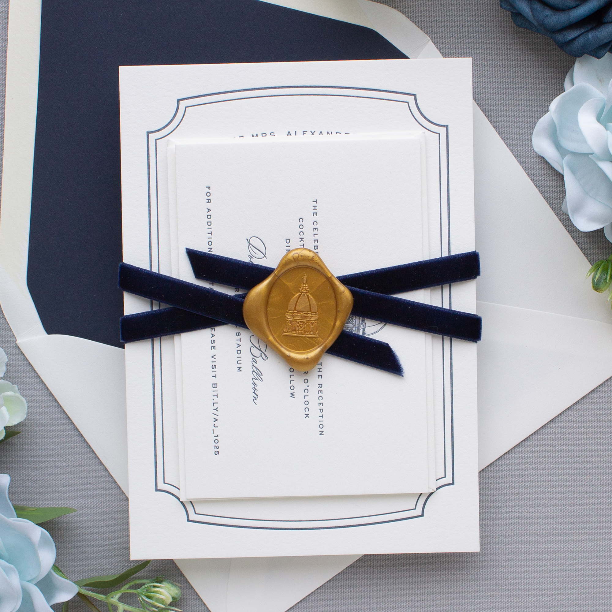 ribbon with wax seal