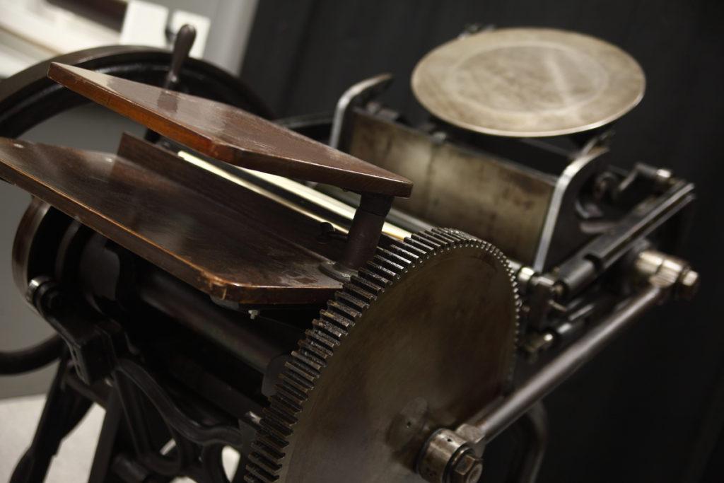 vintage letterpress